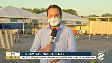 Novas doses de vacina da Pfizer chegam a Mato Grosso - Novas doses de vacina da Pfizer chegam a Mato Grosso