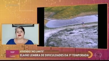 Elaine Melo fala da sua experiência como campeã da primeira edição do 'No Limite' - Nova temporada do reality estreia hoje, 11/05. Elaine lembra das dificuldades durante o programa