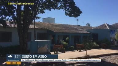 Lar de idosos de São Luiz Gonzaga registra 62 casos de Covid-19 - Dois moradores morreram.