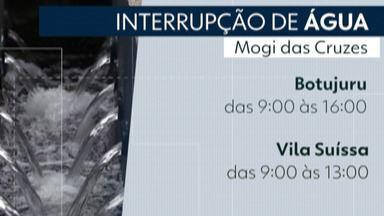 Abastecimento de água é interrompido nos bairros Botujuru e Vila Suíssa, em Mogi - O Semae fará obras de modernização do sistema de distribuição de água nesta quarta-feira (12).