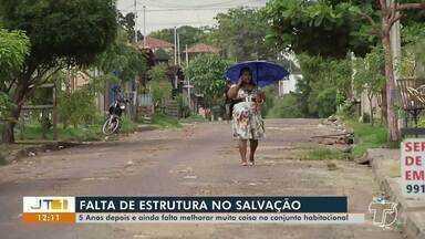 Saiba o que diz a Prefeitura de Santarém sobre os problemas estruturais no Res Salvação - Reportagem exibida na TV Tapajós mostrou a reclamação de moradores.