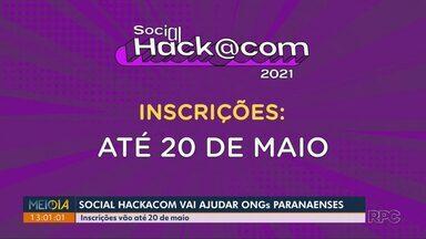 Maratona de tecnologia vai ajudar ONGs paranaenses - Inscrições para a Social Hackacom, da RPC, vão até 20 de maio.