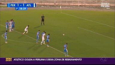 De virada, Atlético-PB goleia a Perilima e vence a primeira no Paraibano - Goleada por 4 a 1 marcou a primeira vitória do Trovão Azul na temporada