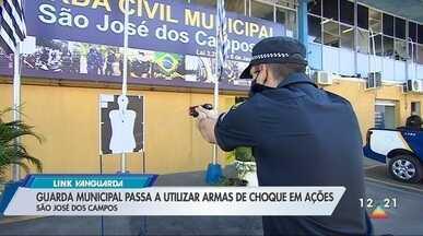 GCM de São José passa a usar armas de choque - Equipamento não é letal.