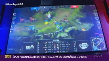 Semifinais do Goianão de Esports definem a grande decisão - Semifinais do Goianão de Esports definem a grande decisão