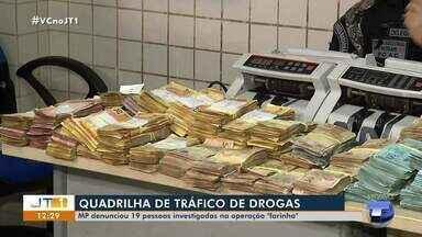 Polícia Civil prende quadrilha por envolvimento no tráfico de drogas - Confira mais detalhes na reportagem.