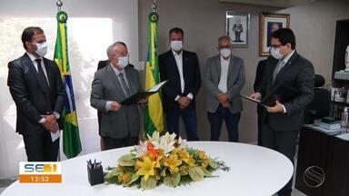 Deputado suplente Jairo de Glória assume o cargo, após licença do Deputado Capitão samuel - Deputado suplente Jairo de Glória assume o cargo, após licença do Deputado Capitão Samuel