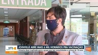Secretário de Saúde de Joinville fala sobre o cronograma da vacinação na cidade - Secretário de Saúde de Joinville fala sobre o cronograma da vacinação na cidade