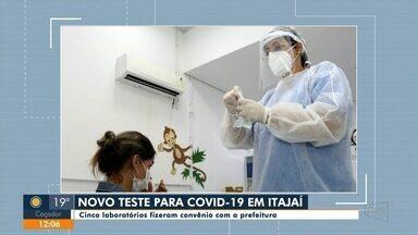 Itajaí faz parceria com cinco laboratórios para oferecer novo teste para Covid-19 - Itajaí faz parceria com cinco laboratórios para oferecer novo teste para Covid-19