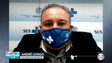 Procura por UTIs no Agreste cresceu mais de 50%, diz secretário de Saúde de PE - Segundo André Longo, devido a isso, medidas mais restritivas foram tomadas em várias áreas do estado.