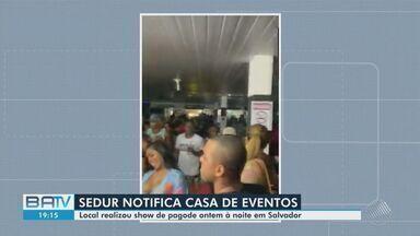 Destaques do dia: Casa de shows é notificada pela Sedur após promover festa, em Salvador - Veja este e outros destaques desta terça-feira (25) no BATV.