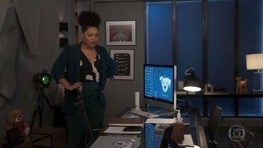 Renatinha decide obrigar Kyra a escrever uma nova carta para Rafael - Rafael não consegue se relacionar com Renatinha, apesar das investidas da secretária