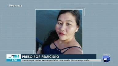 Autor de crime contra ex-companheira é preso pela Polícia Civil de Santarém - Crime de feminicídio aconteceu na noite de domingo, 23, no bairro Jardim Santarém.