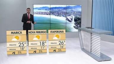 Confira a previsão do tempo para as cidades do interior do estado - Quarta-feira (26) deve ser de tempo frio nas cidades do interior do Rio.