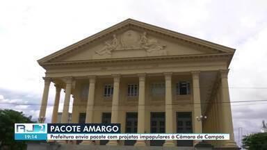 Câmara de Campos, RJ, discute pacote de medidas enviado pela Prefeitura - Série de medidas propostas pela Prefeitura visa uma readequação financeira nos cofres públicos.