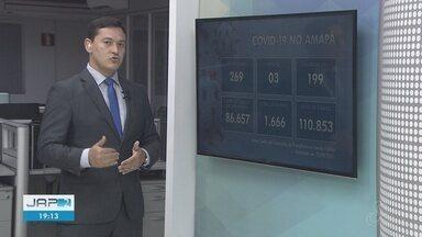 Boletim: Amapá tem 110,8 mil casos confirmados do novo coronavírus e 1.666 mortes - Boletim: Amapá tem 110,8 mil casos confirmados do novo coronavírus e 1.666 mortes