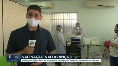 Rio Branco ainda tem quase 4 mil doses de vacinas para vacinar pessoas com comorbidades - Rio Branco ainda tem quase 4 mil doses de vacinas contra a Covid-19 para vacinar pessoas com comorbidades