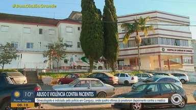 Ginecologista é investigado por crime sexual contra pacientes durante consultas em Canguçu - Quatro mulheres relataram que o médico teria cometido o crime de forma semelhante.