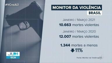 Pará é o 6º no ranking de mortes violentas no Brasil - Pará é o 6º no ranking de mortes violentas no Brasil