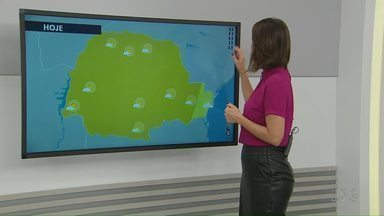 Confira a previsão do tempo para o fim de semana em Maringá e região - Dados são da Somar Meteorologia.
