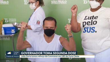 SP1 - Edição de sexta-feira, 04/06/2021 - Guarulhos retoma vacinação contra Covid-19. Governador toma segunda dose da vacina. Ocupação de leitos de UTI não Covid é de 98%. Parada do Orgulho LGBT completa 25 anos em São Paulo. Dificuldade nas cooperativas de reciclagem, resíduo que chega tem pior qualidade, prejudicando renda de cooperados.