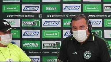 Goiás vence o Confiança por 2 x 0 e soma três pontos na Série B - Verdão de prepara para partida contra o Cruzeiro.