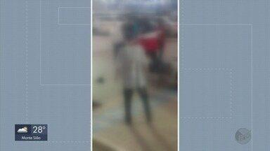 Homem tenta separar briga de adolescentes em shopping e leva chutes na cabeça em Varginha - Homem tenta separar briga de adolescentes em shopping e leva chutes na cabeça em Varginha