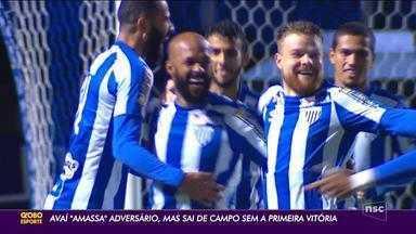 Avaí cede empate para o Vila Nova na Série B - Avaí cede empate para o Vila Nova na Série B