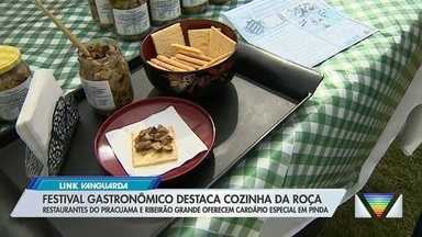 Festival gastronômico em Pinda destaca cozinha da roça - Confira a reportagem exibida pelo Link Vanguarda.