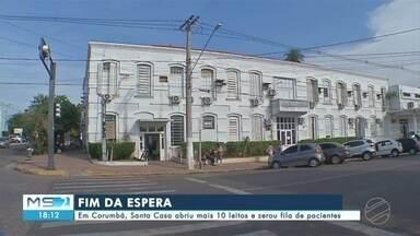 Em Corumbá, Santa Casa abriu mais 10 leitos e zerou fila de pacientes - MS2