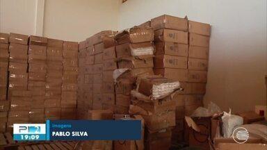 Cinco pessoas são presas com cigarros contrabandeados em Teresina - Cinco pessoas são presas com cigarros contrabandeados em Teresina