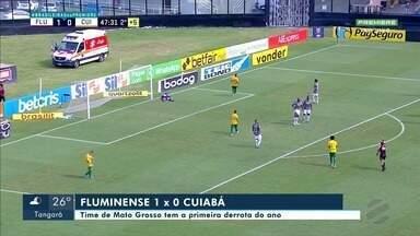 Cuiabá perde para o Fluminense na série A do Brasileirão - Cuiabá perde para o Fluminense na série A do Brasileirão.