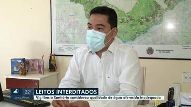 Vigilância Sanitária interdita UTI Covid do hospital de Januária - Segundo a Secretaria de Estado de Saúde, a interdição tinha sido feita 'em razão da não assistência nefrológica adequada aos pacientes com Covid-19 que necessitam de hemodiálise'.