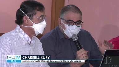 Reunião do gabinete de crise em Campos mantém as mesmas medidas contra a Covid-19 - Gabinete sinalizou expectativa de retorno das aulas híbridas, em breve, com a vacinação do segmento da Educação.