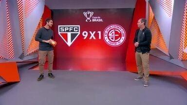 Caio Ribeiro analisa a goleada do São Paulo sobre o 4 de Julho - Caio Ribeiro analisa a goleada do São Paulo sobre o 4 de Julho