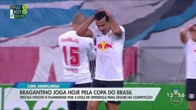 Bragantino joga hoje pela Copa do Brasil - Confira a reportagem exibida pelo Link Vanguarda.
