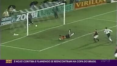 Coritiba faz o principal jogo da temporada contra o Flamengo - Jogo das 19h desta quinta-feira (10) marca mais um encontro entre os dois times na Copa do Brasil