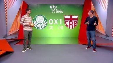 Caio Ribeiro analisa a eliminação do Palmeiras na Copa do Brasil - Caio Ribeiro analisa a eliminação do Palmeiras na Copa do Brasil