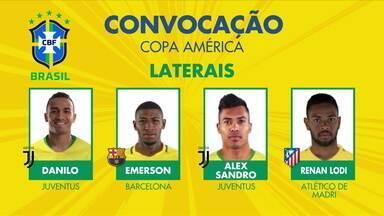 Gabigol, Éverton Ribeiro e Weverton estão em lista de convocados por Tite para a Copa América - Gabigol, Éverton Ribeiro e Weverton estão em lista de convocados por Tite para a Copa América