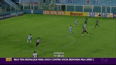 Botafogo-PB ganha mais dois desfalques para jogo contra o Volta Redonda - Confronto contra time carioca acontece no próximo domingo