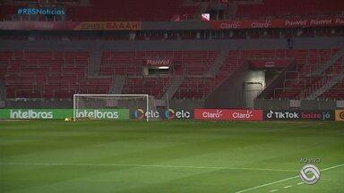 Inter enfrenta o Vitória pela Copa do Brasil nesta quinta (10) - Assista ao vídeo.