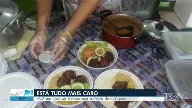 Inflação em São Luís é a maior que a média do Brasil, aponta ibge - Comida, bebida e energia elétrica estão cada vez mais caras.