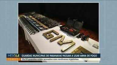 Guarda Municipal de Paranavaí passa a usar arma de fogo - STF autorizou o uso para integrantes de Guardas Municipais de todo o país independentemente do tamanho do município.