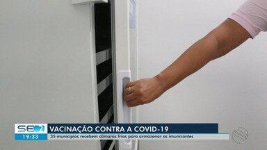Confira as informações sobre a vacinação contra a Covid-19 em Sergipe - Confira as informações sobre a vacinação contra a Covid-19 em Sergipe