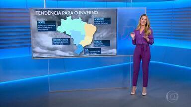 Inverno começa na segunda-feira com muita chuva no Sul do Brasil - Mas a estação deve ser mais seca este ano em todas as regiões.