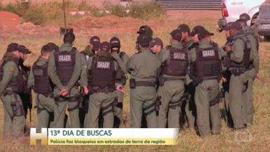 Polícia faz bloqueios em estradas de terra da região de Cocalzinho de Goiás - A Secretaria de Segurança Pública montou uma base numa escola pública no distrito rual de Girassol, que fica em Cocalzinho de Goiás.