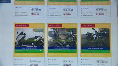 Brasil tem quase 7 sites piratas - Páginas enganam os consumidores com leilões falsos. Veículos são arrematados por valores, abaixo do mercado e nunca são entregues.