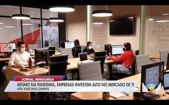 Mesmo na pandemia, empresas investem alto no mercado de TI - Confira a reportagem exibida pelo Jornal Vanguarda.