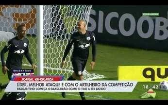 Bragantino: líder, com melhor ataque e melhor artilheiro da competição - Confira a reportagem exibida pelo Jornal Vanguarda.