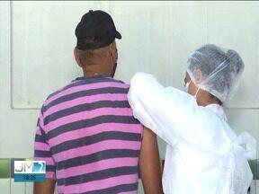 Apenas 7% da população de Balsas já tomou a 2ª dose da vacina contra a Covid-19 - Depois de percorrer a zona rural, a campanha voltou para o centro da cidade.